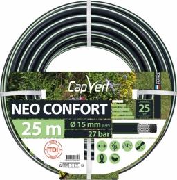 Tuyau d'arrosage Neo confort - 5 couches - 15 x 25 M - CAP VERT
