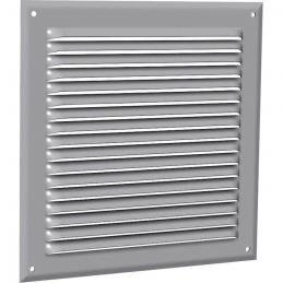 Grille de ventilation classique - Aluminium - 165 x 210 mm - ANJOS