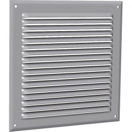 Grille de ventilation classique - Aluminium - 75 x 190 mm - ANJOS