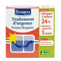 Traitement d'urgence - Fosses bloquées 3x200g - STARWAX