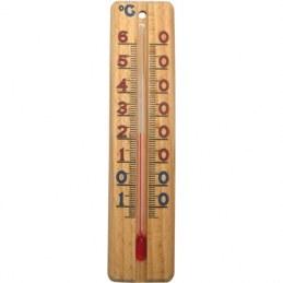 Thermomètre en bois - 137 x 30 mm - STIL