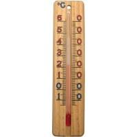 Thermomètre en bois - 137 x 30 mm