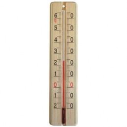 Thermomètre bois - 220 x 48 mm