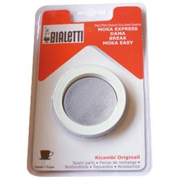 Joint + filtre pour cafetière Bialetti Moka Express - 3 Tasses