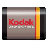 Pile lithium 2CR5 - 6 V - KODAK