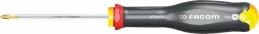 Tournevis PROTWIST pour vis cruciformes PHILLIPS - lames rondes - 3 x 75 mm - FACOM
