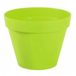 Pot à fleur en plastique - Gamme Toscane - 10 L - Pistache - EDA