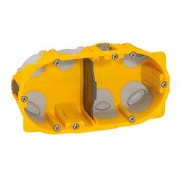 Boîte à encastrer Ecobatibox pour plaque de plâtre - 2 postes - LEGRAND