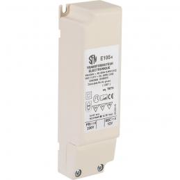 Transformateur électronique - Pour ampoule halogène - Puissance 20 à 105 W