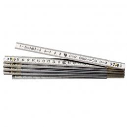 Mètre pliant - Alliage aluminium - 2 M - 15 mm - STANLEY