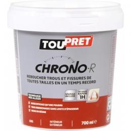 Enduit de rebouchage en pâte - Chrono-R - 700 ml - TOUPRET
