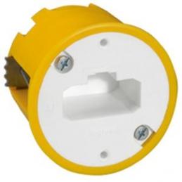 Boîte à encastrer Batibox maçonnerie + fiche pour applique - Ø54 mm- LEGRAND