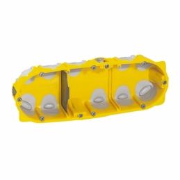 Boîte à encastrer Ecobatibox pour plaque de plâtre - 3 postes - LEGRAND