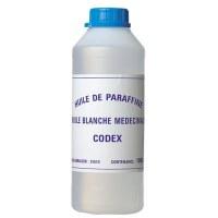 Huile de paraffine médicinale et alimentaire - 1 L - CODEX