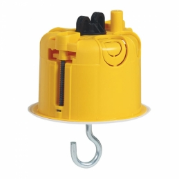Boîte à encastrer Batibox plaque de plâtre pour luminaire avec couvercle -Ø67 mm - LEGRAND