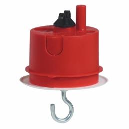 Boîte à encastrer Batibox maçonnerie + fiche pour luminaire - Ø65 mm - LEGRAND