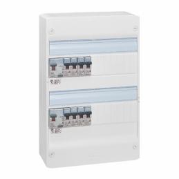 Tableau électrique équipé - spécial pour logement T1 ou T2 - LEGRAND