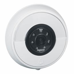 Sonnette connectée IP44 IK06 connexion directe à la box Wi-Fi - Blanc - LEGRAND