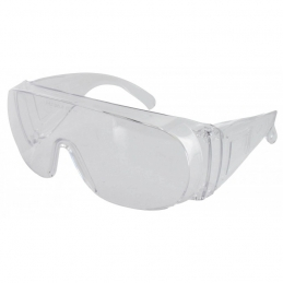 Surlunettes de protection - Polycarbonate - Incolore - OUTIBAT