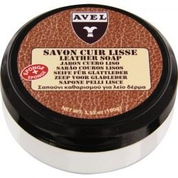 Savon nettoyant et regénérant pour cuir lisse - 100 ml - AVEL