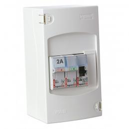Tableau de commande automatique de chauffe-eau - 2 disjoncteurs + 1 contacteur - LEGRAND