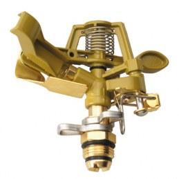 Asperseur métal rotatif - Mâle 15 x 21 - CAP VERT