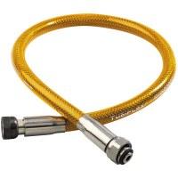 Flexible gaz butane / propane en inox - 1.5 m