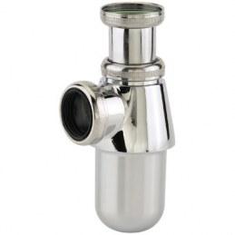 Siphon pour lavabo en laiton chromé - Ø32 - NEPTUNE
