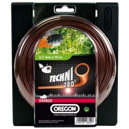 Fil pour débroussailleuses - Techni 280° - 2.7 mm x 70 M - OREGON