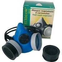 Masque respiratoire à cartouches - OUTIBAT