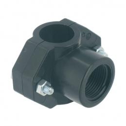 Collier de prise en charge pour arrosage enterré - 25 mm - 15 x 21 mm - CAP VERT