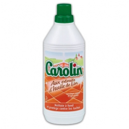 Carolin - Nettoyant Sols - Huile de Lin - 1 L