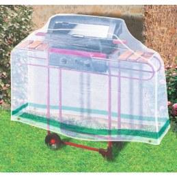 Housse de protection rectangulaire pour barbecue - 1.6 M - CAP VERT
