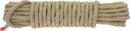 Corde en chanvre - 10 Mètres - 10 mm - CORDEIE TOURNANAISE