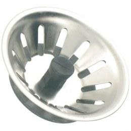 Panier manuel en inox pour bonde de Ø90 mm - NEPTUNE