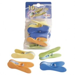 Lot de 10 pinces à linges sweet clip - LAGUELLE