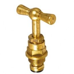 Tête de robinet en laiton - Filetage standard - 15 x 21 mm - NEPTUNE