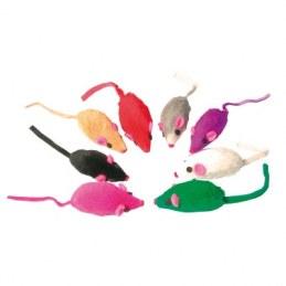 Jouet pour chat - 8 souris fourrure