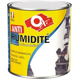 Peinture d'étanchéité - Anti-humidité - Blanc - 0.5 L - OXI