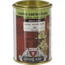 Vernis ébénisterie - Brillant - Incolore - 250 ml - AVEL