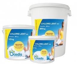Chlore lent 500 - Chlore stabilisé - 4.5 Kg - OCEDIS