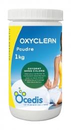 Traitement à l'oxygène actif sans chlore - Oxy Clean - 1 Kg - OCEDIS