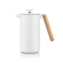 Cafetière à piston en porcelaine, 8 tasses, 1.0 L - Douro - Blanc - BODUM