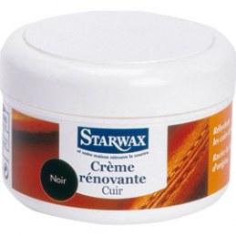 Crème Renovante Cuir Noir 150ml - STARWAX