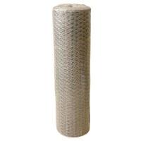 Grillage triple torsion galvanisé - 0.5 x 25 m - Maille 20