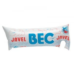 3 doses de 250 ml de Javel non parfurmé - BEC