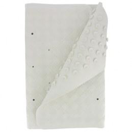 Tapis de sécurité bain - Blanc - 70 x 35 cm