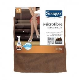 Lavette microfibre spécial cuir - STARWAX