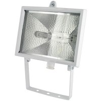 Projecteur halogène 400 W - Blanc - DHOME