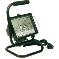 Projecteur sur socle 400 W - Noir - DHOME